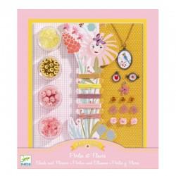 Blomster - Perlesæt 8-14 år - Djeco