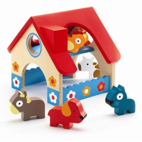Djeco trælegetøj - Den lille bondegård