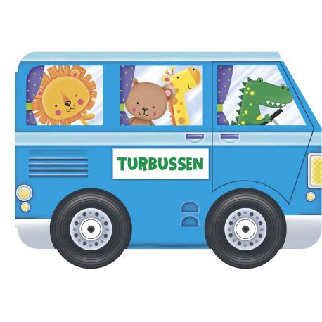 Turbussen - Papbog med flapper - Forlaget Bolden