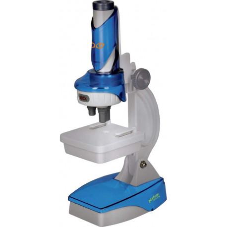 Stort mikroskop med tilbehør - Spiegelburg