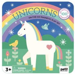 Unicorns - Magnetisk Mix & Match æske - Petit Collage