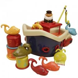 B. Toys badelegetøj - Fiskerbåd
