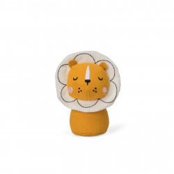Løve - Mini stof rangle - Bon Ton Toys