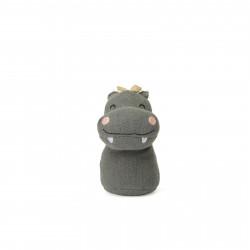 Flodhest - Mini stof rangle - Bon Ton Toys