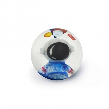 Astronaut, rumskib, glimmer & lys - Stor hoppebold