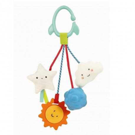 Galaxy rangle & bidelegetøj med ophæng - B. Toys