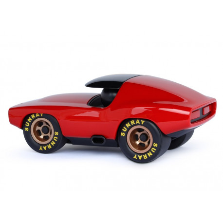 Rød Vincent - Leadbelly bil - Playforever