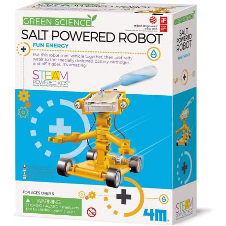 Saltdrevet robot - KidZLabs