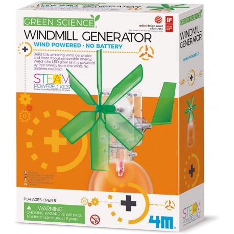 Vindmølle generator - Green Science - KidzLabs