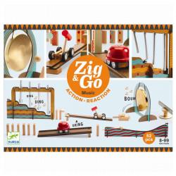 Zig & Go kuglebane - Musik, 52 dele - Djeco