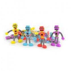 Bøjelig robot - Assorteret farver