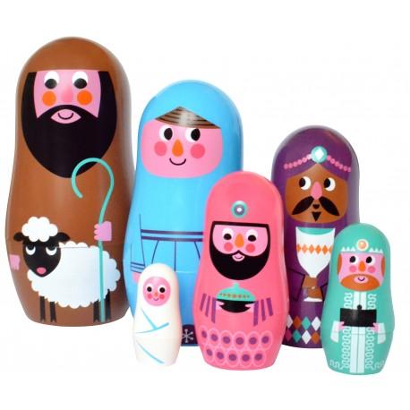 Christmas - Babushka dukker - Studio Matryoshka