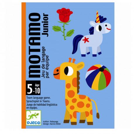 Motamo Junior - Kortspil - Djeco