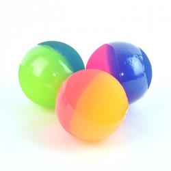 Stor neon hoppebold - 6 cm - Flere farver