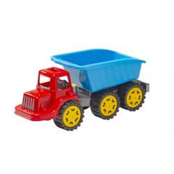 Stor lastbil med lad