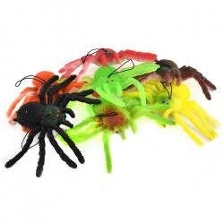 1 stk. Stor stræk edderkop - Flere farver