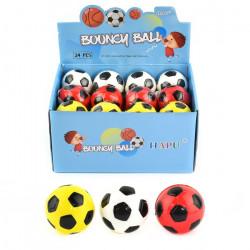 1 stk. fodbold hoppebold - Flere farver