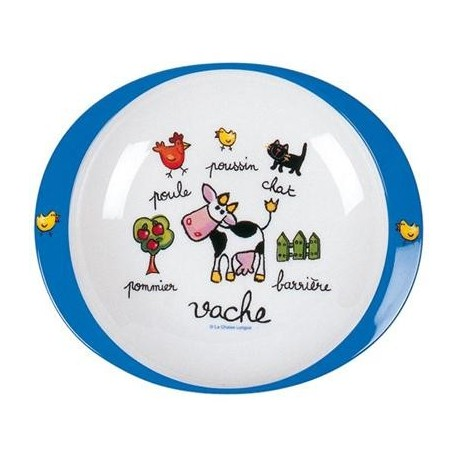 Flad tallerken - Bondegårdsdyr - La Chaise Longue