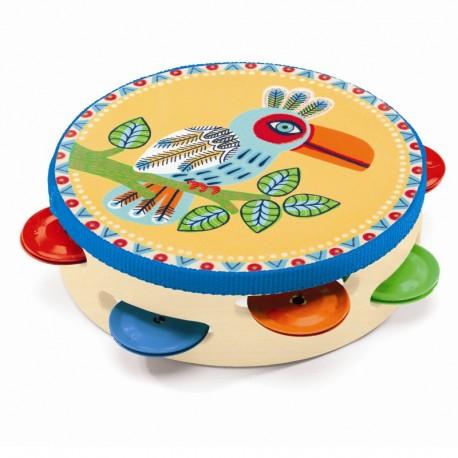 Djeco musikintrument - Tamburin