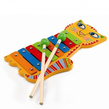 Djeco musikintrument - Metal Xylofon