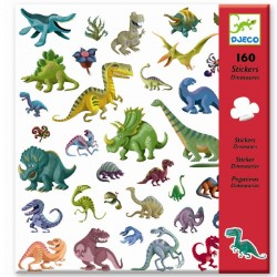 Dinosaur klistermærker - Djeco