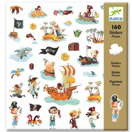 Pirater - Klistermærker - Djeco