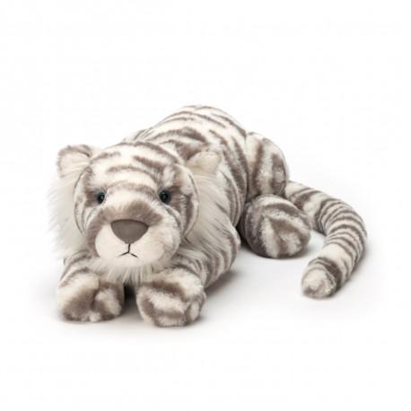 Sacha Snetiger - Ultrablød stor bamse - Jellycat