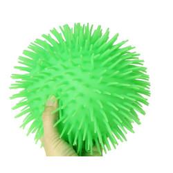 Medium Puffer bold med hår - 18 cm