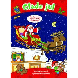Glade jul - Den store flapbog i pap - Forlaget Bolden