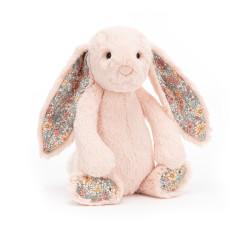 Blush blossom kanin - Mellem Bashful bamse - Jellycat