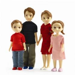 Djeco Petit Home - Dukker - Familien Thomas og Marion