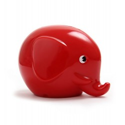Norsu rød elefant sparebøsse - Mini