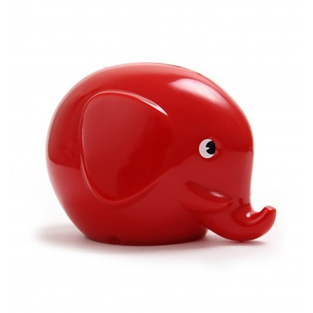 Rød elefant sparebøsse - Mini - Norsu