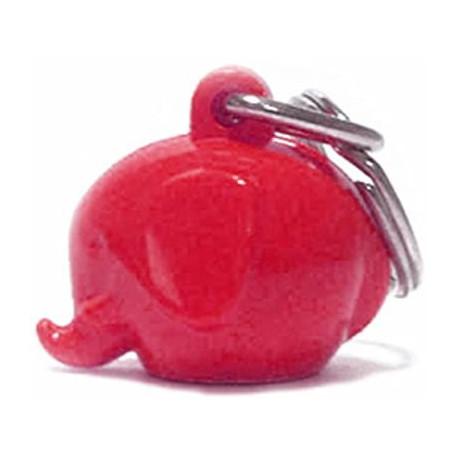 Rød elefant nøglering - Norsu