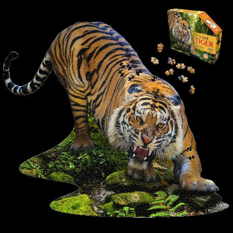 I am Tiger - Puslespil 1000 brikker - Madd Capp Puzzles