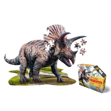 I am Triceratops - Puslespil 100 brikker - Madd Capp Puzzles