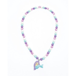 Pastel havfrue halskæde - Great Pretenders