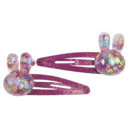 Bunny Bling - 2 stk. hårspænder - Great Pretenders