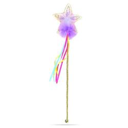 Glitter stjerne regnbue tryllestav - Great Pretenders