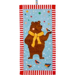 Magisk håndklæde med bjørn - Spiegelburg