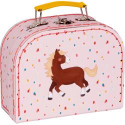 Lille kuffert med hest - Spiegelburg