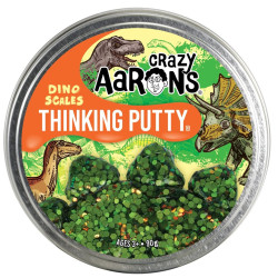DINO SCALES - Stor Trendsetter Thinking Putty slim - Crazy Aarons