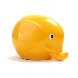 Norsu gul elefant sparebøsse - Maxi