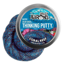 CORAL REEF - Mini Color Shock Thinking Putty slim - Crazy Aarons