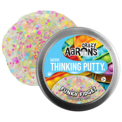 FUNKY FIDGET - Mini Thinking Putty slim - Crazy Aarons