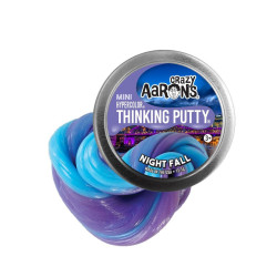 NIGHT FALL - Mini Hypercolor Thinking Putty slim - Crazy Aarons