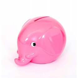 Norsu lyserød elefant sparebøsse - Mini