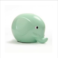 Norsu mint grøn elefant sparebøsse - Mini
