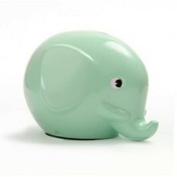 Norsu mint grøn elefant sparebøsse - Maxi