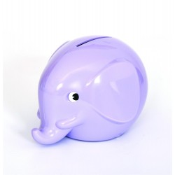Norsu lavendel elefant sparebøsse - Maxi